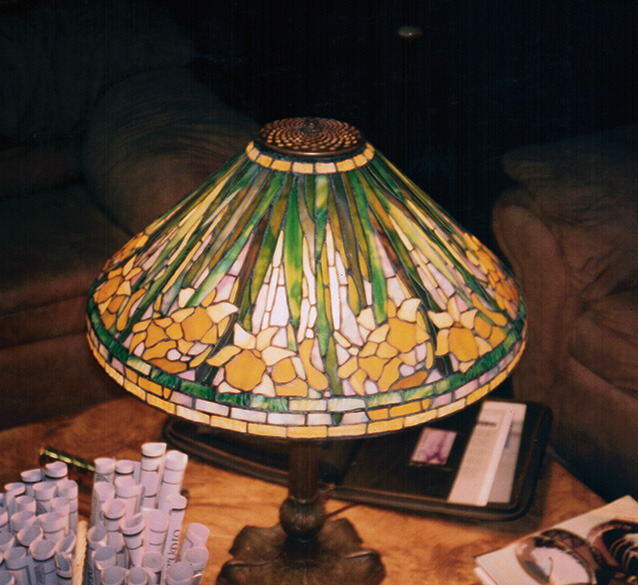 "20"" Reproduction Daffodil Lamp"