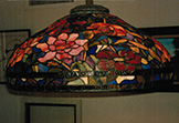22 Inch Peony Tiffany Reproduction Hanging Lamp