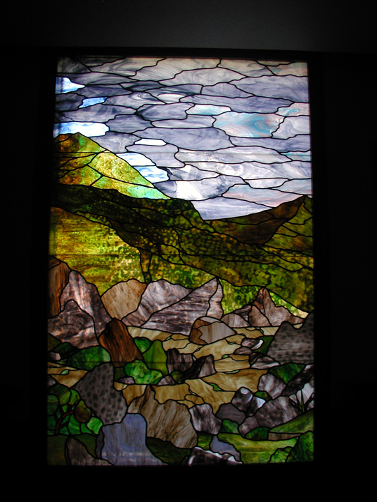 Bethany Lutheran chapel satined glass window 2
