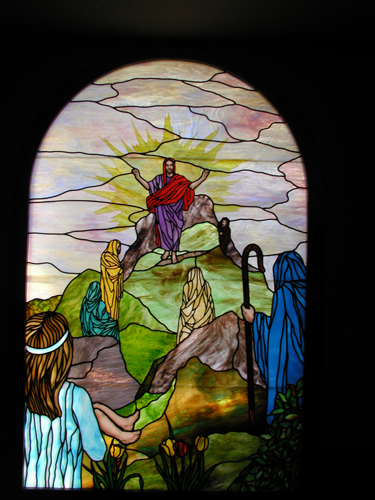 Bethany Lutheran Church Chapel window 4