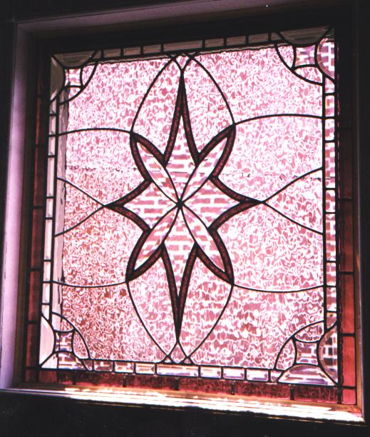 Leaded beveled glass decorative window for Decorative stained glass windows