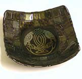 "Fused Glass Celtic ""Handfast"" Bowl"