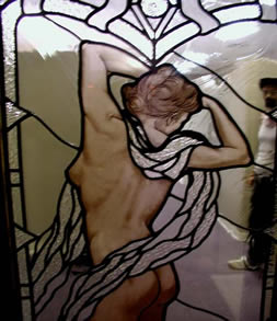 Figural stained glass window gallery