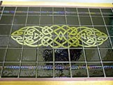 """Tail of the Dragon"" Celtic Table"
