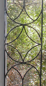 Traditional Leaded Restoration Glass Transom and Sidelites