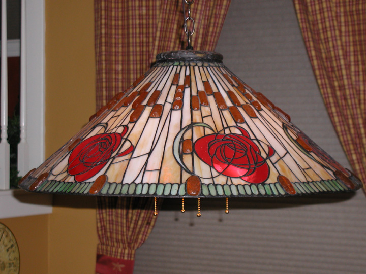 DGS Original Art Nouveau Hanging Lamp