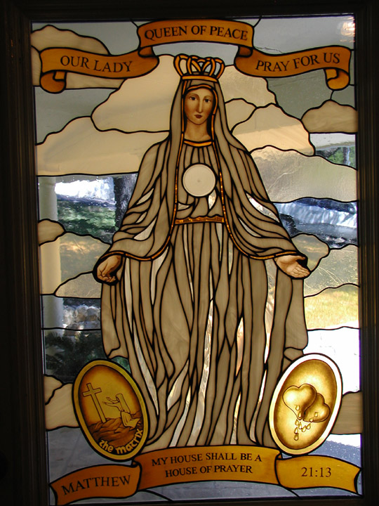 Our Lady Queen of Peace Entryway doors