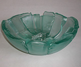 Origins Fused Glass Bowl