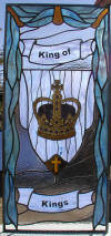 King of Kings window for Reformed Fellowship Church