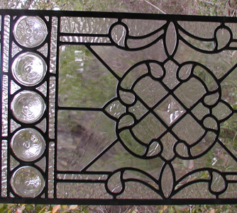 Key West Leaded Glass Transom