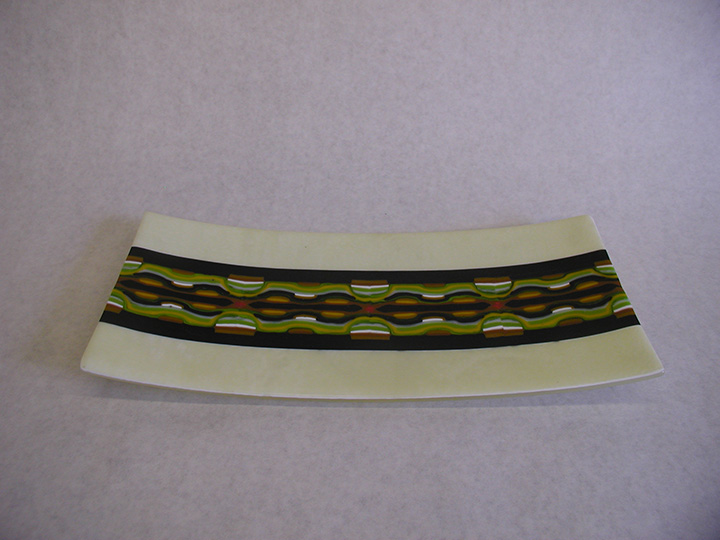 Fused Pattern Bar Plate