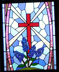 Kingsland Community Church Sanctuary Stained Glass Gallery