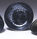 Slumped Glass Celtic Bowls
