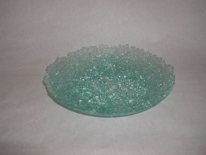 Fused Tempered Glass Bowl