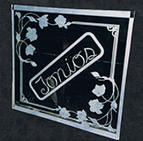 Tonio's Etched Glass Restaurant Sign